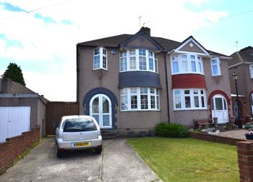 Thumbnail 3 bed semi-detached house for sale in Waltham Close, West Dartford