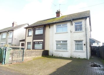 Thumbnail 3 bed semi-detached house for sale in Muirton Road, Splott, Cardiff