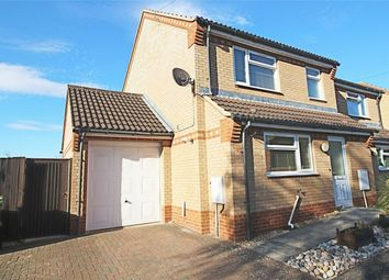 Thumbnail 3 bed semi-detached house for sale in Hansell Road, Brampton, Huntingdon