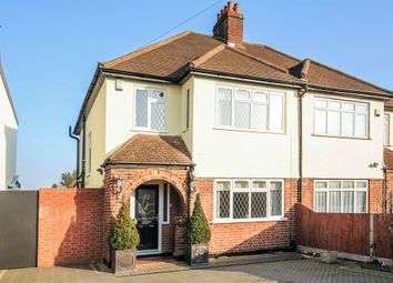 Thumbnail 4 bed semi-detached house for sale in Broadlands Way, New Malden
