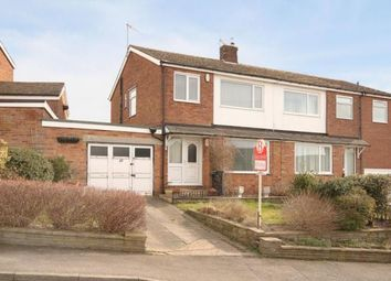 Thumbnail 3 bed semi-detached house for sale in Fair View Road, Dronfield, Derbyshire