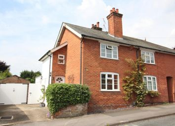 Thumbnail 2 bed semi-detached house for sale in Church Road, Fleet