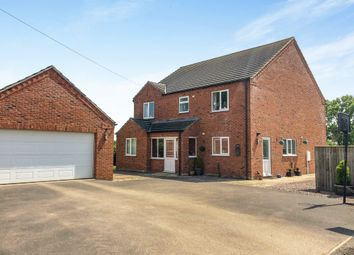 Thumbnail 4 bed detached house for sale in Field Lane, Bardney, Lincoln