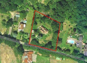 Thumbnail Land for sale in Badgers Road, Badgers Mount, Sevenoaks