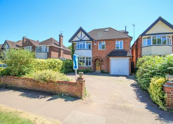 Thumbnail 5 bed detached house for sale in Leicester Lane, Leamington Spa