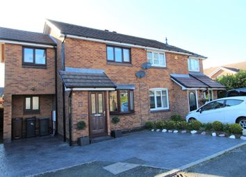 Thumbnail 3 bed semi-detached house for sale in Larch Way, Glossop
