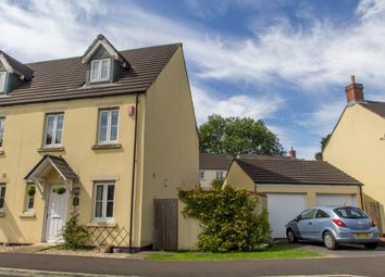 Thumbnail 3 bed semi-detached house for sale in Woodpecker Way, Whitchurch, Tavistock