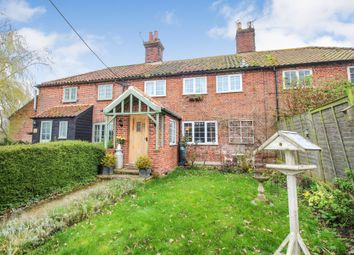 Thumbnail 3 bed cottage for sale in Langley Street, Langley, Norwich