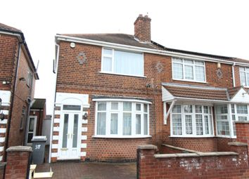 Thumbnail 3 bedroom semi-detached house to rent in Purley Road, Leicester