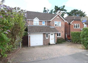 Thumbnail 4 bed detached house for sale in Longmead, Fleet