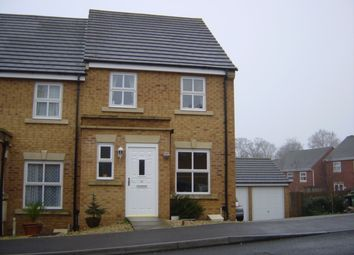 Thumbnail 3 bedroom end terrace house to rent in Trellick Walk, Stoke Park