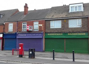 Thumbnail Retail premises for sale in 251-253, Station Road, Dunscroft, Doncaster