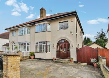 Thumbnail 4 bedroom semi-detached house for sale in Elgar Avenue, Surbiton, Surrey