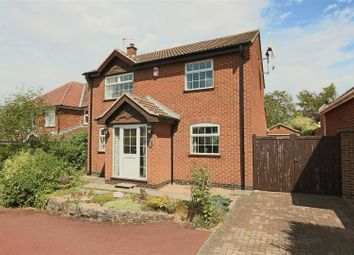 Thumbnail 3 bed detached house for sale in Hobsic Close, Brinsley, Nottingham