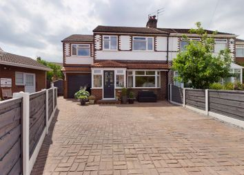Thumbnail 4 bed semi-detached house for sale in Norreys Avenue, Flixton, Trafford