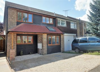Thumbnail 4 bed semi-detached house for sale in Lenside Drive, Maidstone