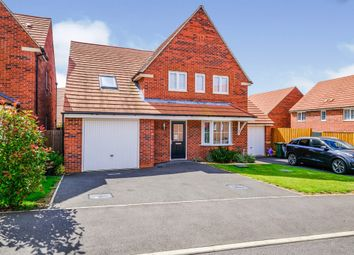 Thumbnail 4 bedroom detached house for sale in Cartmel Drive, Corby