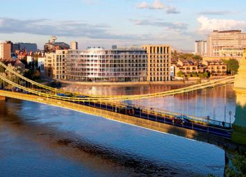 Thumbnail 2 bedroom flat for sale in Queens Wharf, Crisp Road, Hammersmith, London