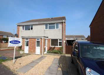 Thumbnail 2 bed semi-detached house for sale in Nelson Drive, Mudeford