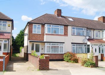 Thumbnail 3 bed end terrace house to rent in Meadow Road, Feltham
