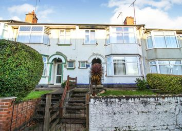 Thumbnail 3 bed terraced house for sale in Albany Road, Earlsdon, Coventry