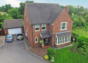 Thumbnail 5 bed detached house for sale in Fern Close, Cross Lanes, Wrexham
