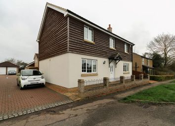Thumbnail 4 bed detached house to rent in Main Street, Witchford, Ely