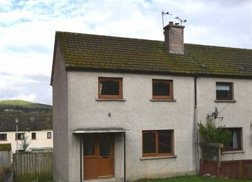 Thumbnail 2 bed end terrace house for sale in Brown Square, Dingwall, Ross-Shire
