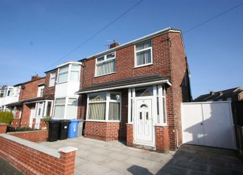Thumbnail 3 bed semi-detached house for sale in St. Georges Road, Stretford, Manchester