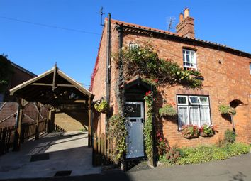 Thumbnail 2 bedroom semi-detached house for sale in Cowgate, Heckington, Sleaford