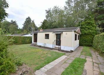 Thumbnail 2 bedroom mobile/park home for sale in Sylvan Way, Grange Estate, Church Crookham, Fleet