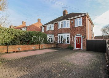 Thumbnail 3 bed semi-detached house for sale in Welland Road, Dogsthorpe, Peterborough