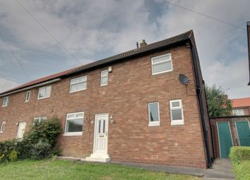 Thumbnail 3 bedroom semi-detached house for sale in Haughton Crescent, West Denton, Newcastle Upon Tyne