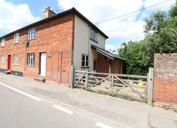 Thumbnail 3 bed semi-detached house to rent in The Street, Rickinghall, Diss