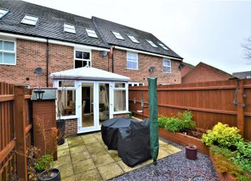 Thumbnail 3 bed town house for sale in Hillside Gardens, Wittering, Peterborough