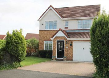 Thumbnail 4 bed detached house for sale in Goldthorpe Close, Cramlington
