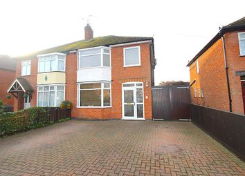 Thumbnail 3 bed semi-detached house for sale in Radford Drive, Leicester
