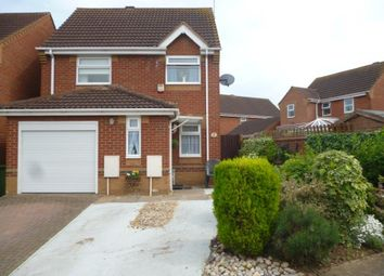 Thumbnail 3 bed detached house for sale in Curlew Grove, Stanground, Peterborough
