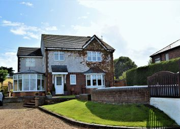 Thumbnail 3 bed detached house for sale in St. Asaph Road, Lloc, Holywell