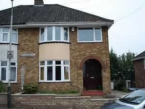 Thumbnail 3 bed semi-detached house to rent in Massingham Road, Norwich, Norfolk