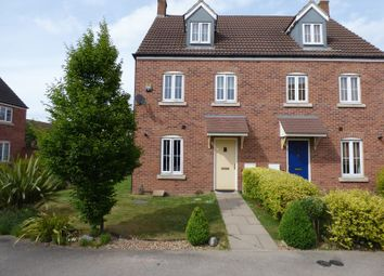 Thumbnail 3 bed semi-detached house for sale in Shawbury Avenue Kingsway, Quedgeley, Gloucester