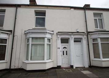 Thumbnail 3 bed terraced house for sale in 33 St Cuthbert Road, Stockton
