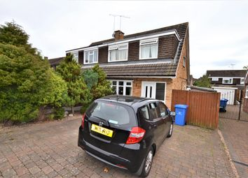 Thumbnail 3 bed semi-detached house to rent in Chertsey Road, Mickleover