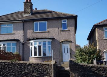 Thumbnail 3 bed semi-detached house for sale in Oakworth Road, Keighley
