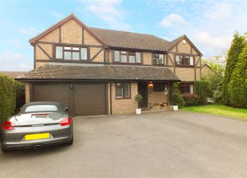 Thumbnail 5 bed detached house for sale in Swan Way, Church Crookham, Fleet, Hampshire