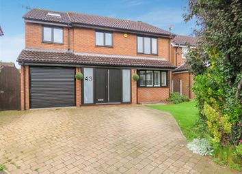 Thumbnail 5 bedroom detached house for sale in Ansley Way, St. Ives, Huntingdon
