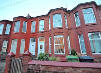 Thumbnail 3 bedroom terraced house for sale in Wright Street, Wallasey