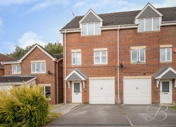 Thumbnail 3 bed town house for sale in Millrise Road, Mansfield