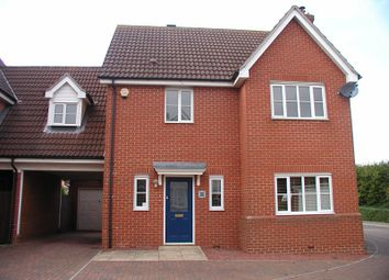 Thumbnail 4 bed link-detached house to rent in Artillery Drive, Dovercourt, Harwich