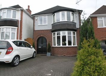 Thumbnail 3 bedroom detached house for sale in Trejon Road, Cradley Heath